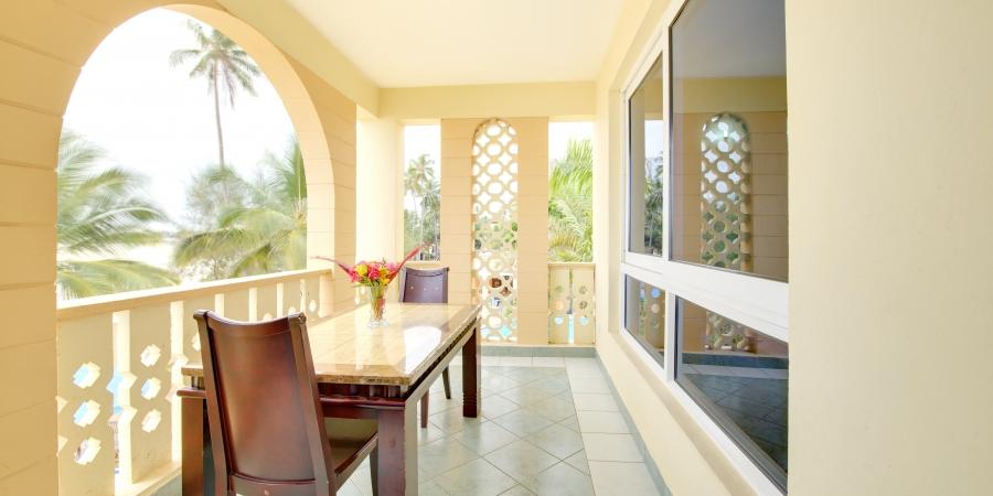Ocean View via Balcony